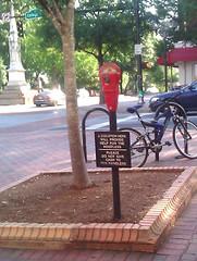 homeless meter?