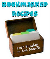 Bookmarked recipes logo