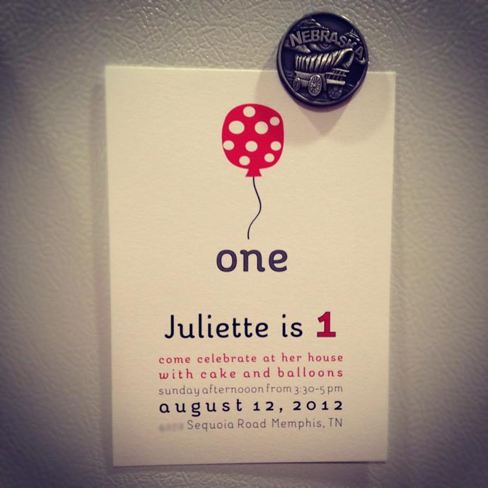 Jules invite