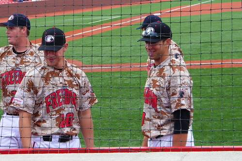 Windy City ThunderBolts 2, Florence Freedom 1 (Florence, Kentucky - Thursday August 9, 2012)