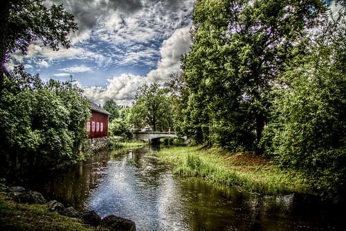 summer landscape hdr söderköping efs18135mm