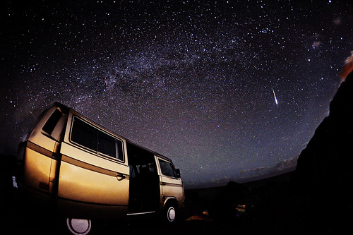 Van jam with the stars
