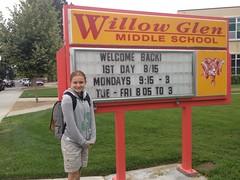 13yoJ: 8th Grade Underway