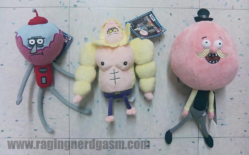 Regular Show Figures Jazwares plush figures11