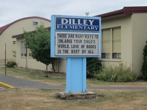 Props to Dilley Elementary School!