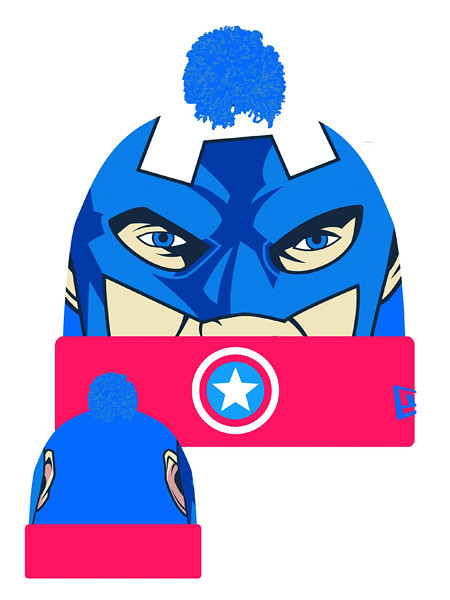 Esquente sua cabeça com Super-Heróis - Eu Quero capitão américa