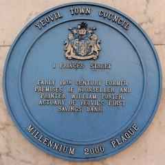 Photo of William Porter blue plaque