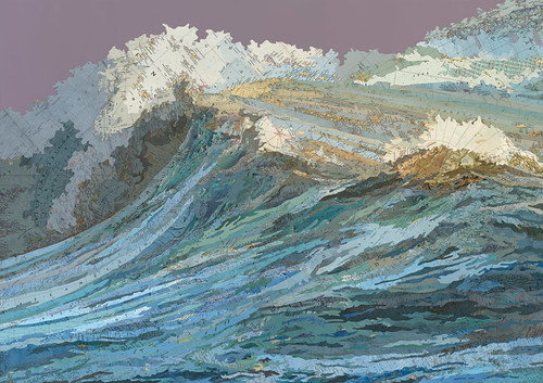 Matthew-Cusick_222, The Rachel's Wave, 2011