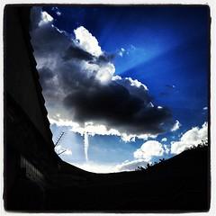 #Mini #Tornade dans le 78 :-) #twister #storm