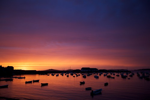 Sunset over St Mary's Harbour 4