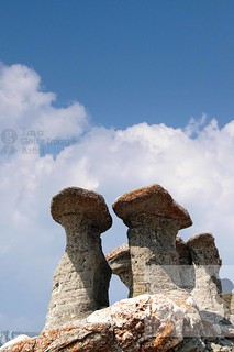 Babele - Geomorphologic rocky structures landmark in Bucegi Mountains, Romania, Europe