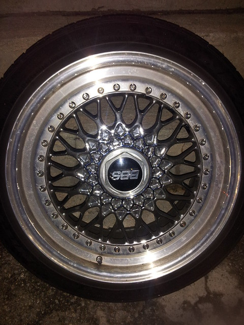 MA [b]Chrome dipped BBS RS wheels 17x9 +40[/b] - Honda ...