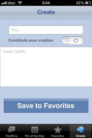 TextPics for Facebook
