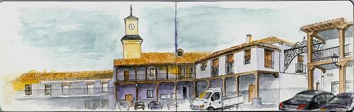 torre del reloj Valdemoro