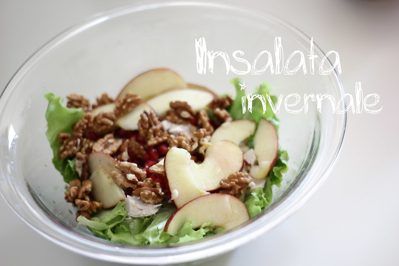 insalata invernale - winter salad