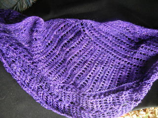 Iron Maiden Shawl