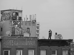 US-NY Brooklyn - Watching Sunset 2014-02-23
