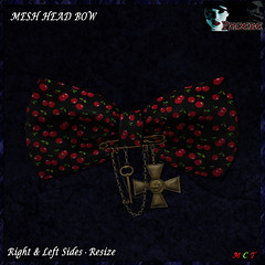 [NEW ON SALE!] *P* Pam Head Bow ~Cherries~