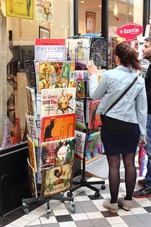 Tourist shop at Passage Joffrey
