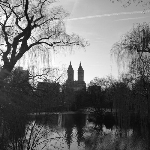 The Lake in Central Park by DJ Lanphier