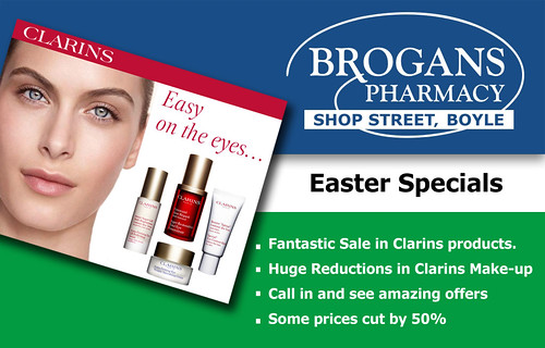 Easter offers at Brogans Pharmacy