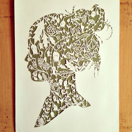 All Things Paper: Paper Cuttings by Ali Harrison