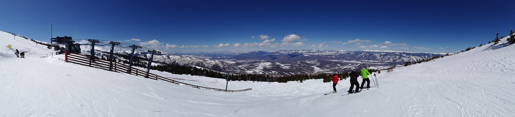 Panorama from the top of High Alpine