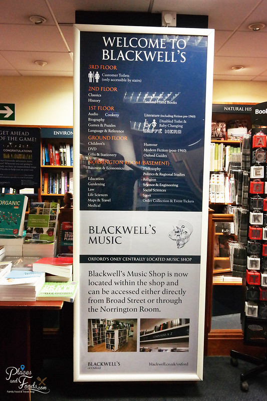 oxford blackwell bookshop guide