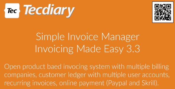 Simple Invoice Manager v3.3.10 - Invoicing Made Easy