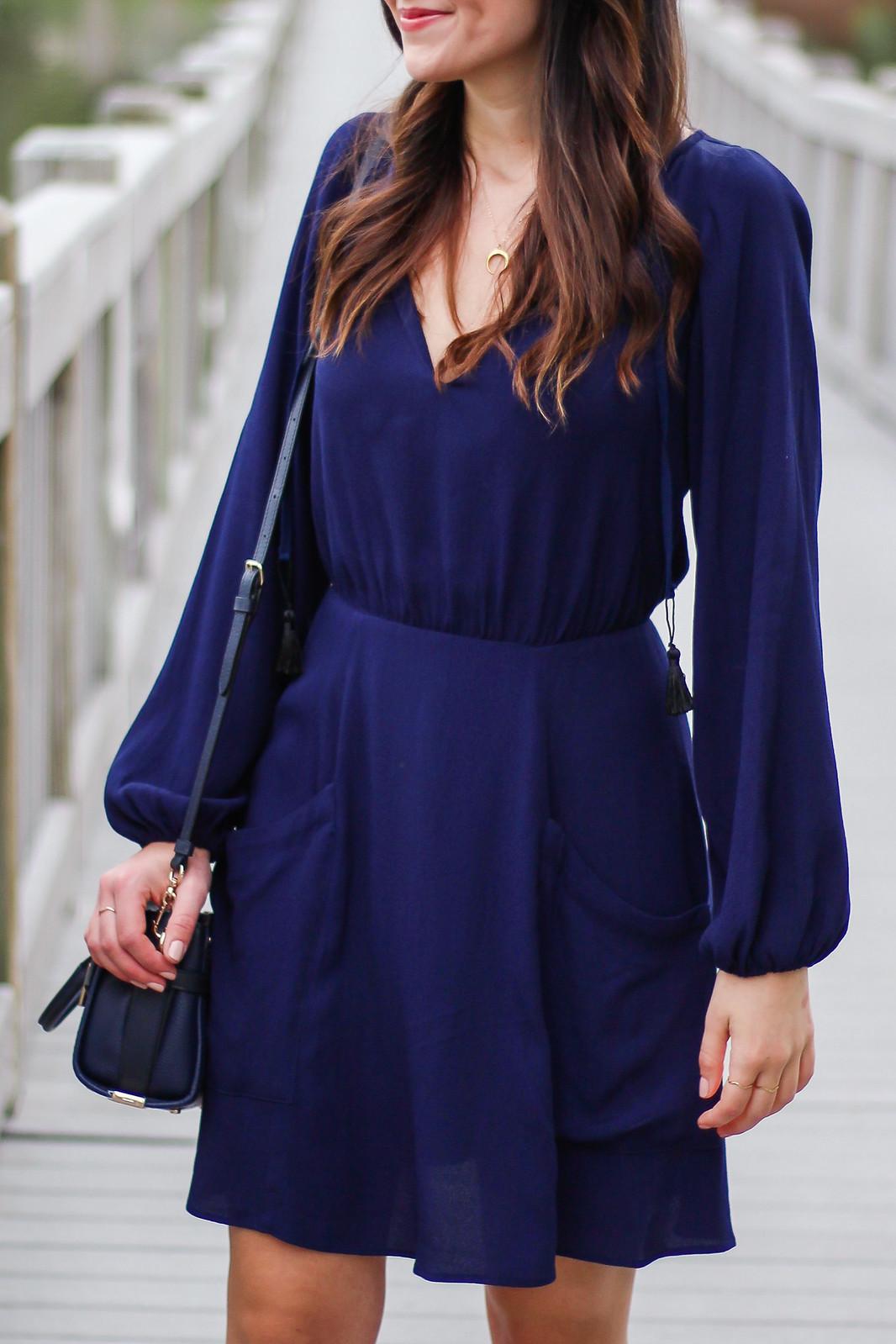 Reformation Purple Dress
