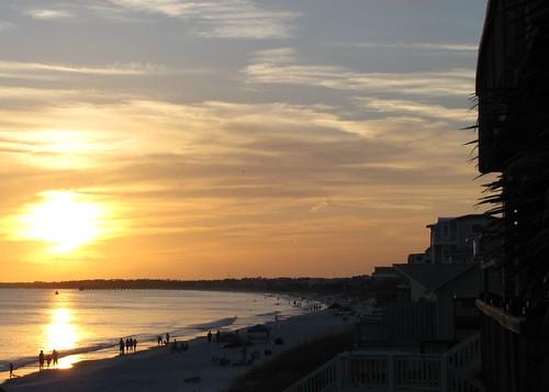 ocean sunset beach clouds sand gulf florida fathersday mexicobeach