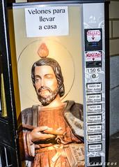 Maquina expendedora de Fe en Madrid