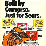 Fri, 2016-05-27 18:32 - Converse/Sears ad from the inside cover of the Beetle Bailey comic book. 1974