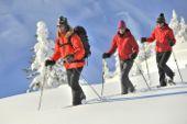 Schneschuhwandern. Foto: Josef Mallaun.