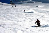 Sizilien, Skitour Vulkan Etna. Foto: Hanspeter Eisendle.