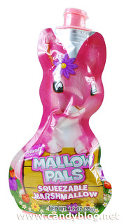 Mallow Pals Strawberry Squeezable Marshmallow