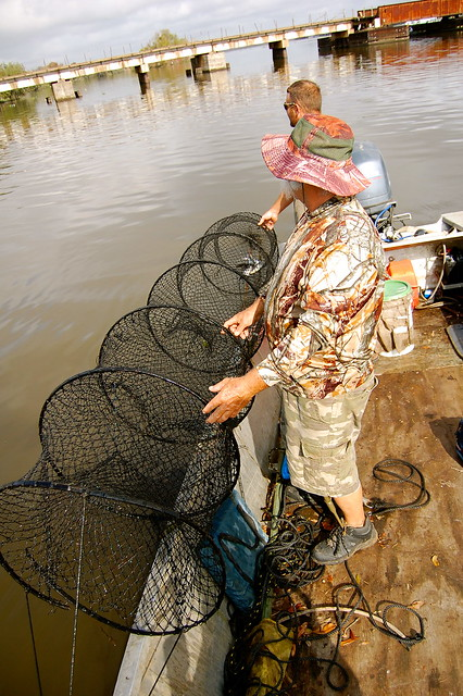 Joey fonseca with hoop nets flickr photo sharing for Fishing hoop nets