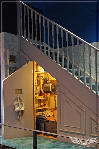The Establishing Shot: The Making of Harry Potter Tour - Harry Potter's Cupboard under the stairs, 4 Privet Drive, Little Whinging, Surrey by Craig Grobler