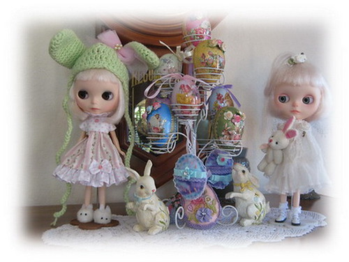 Easter eggs and bunnies_2