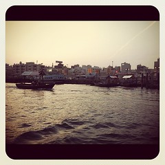 Up the creek #dubai #creek #boats
