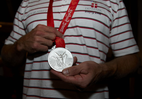 Olympic silver medal won by Kim Wraae in 2008