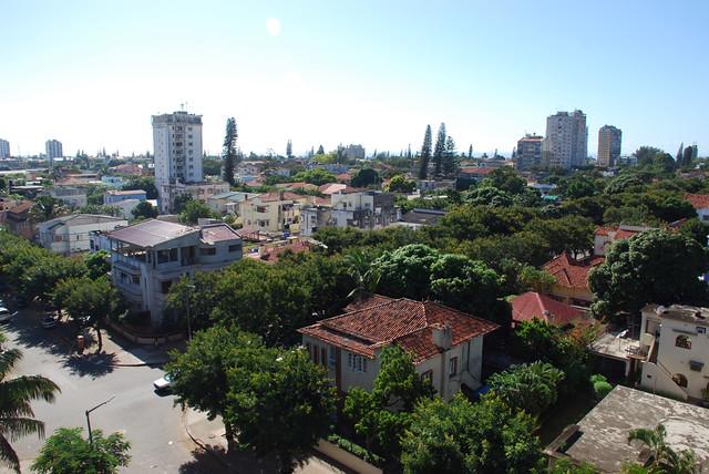 Maputo [001] visto de cima