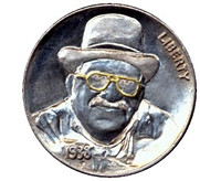 Verne R. Walrafen Hobo Nickel