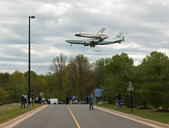 Space Shuttle Discovery Fly-Over (201204170018HQ)