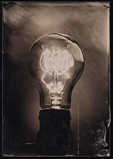 Light Bulb Ambrotype - 2
