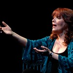 Maureen McGovern in the world premiere musical memoir A LONG AND WINDING ROAD at the Huntington Theatre Company's Calderwood Pavilion at the BCA. Part of the 2009-2010 season. Photo: Eric Antoniou