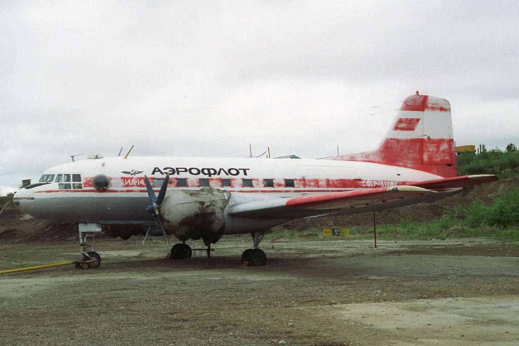 CCCP-61784 IL-14 Aeroflot
