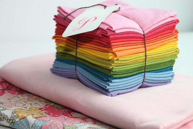 Rainbow fabric