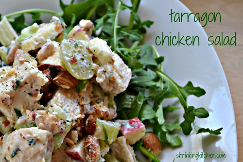 Tarragon Chicken Salad - Shrinking Kitchen