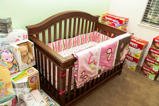 Baby Josie's crib